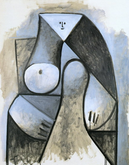 Pablo Picasso. Seated Woman, 1929