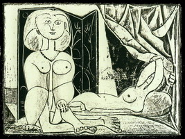 The two naked women XVI