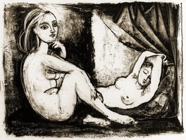 The two naked women III (1945)