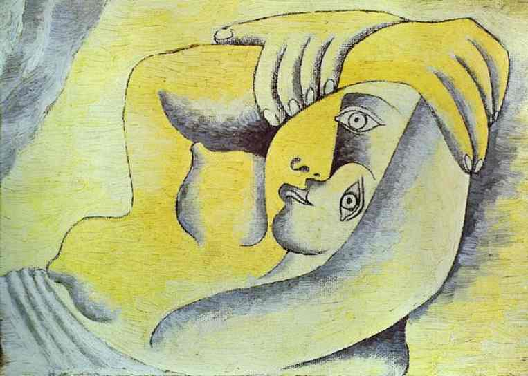 Pablo Picasso. Nude on a Beach, 1929
