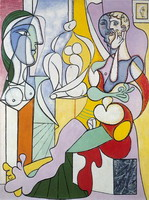 Pablo Picasso. The sculptor