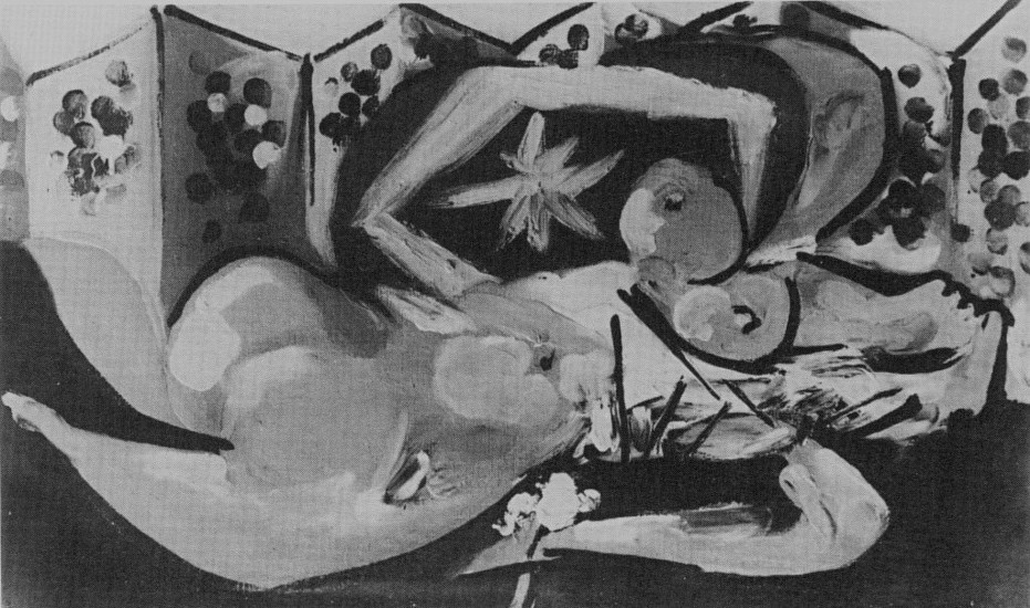 Pablo Picasso. Reclining Nude, 1932
