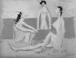 Three Bathers I