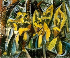 Pablo Picasso. Five women