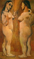Pablo Picasso. Two naked women