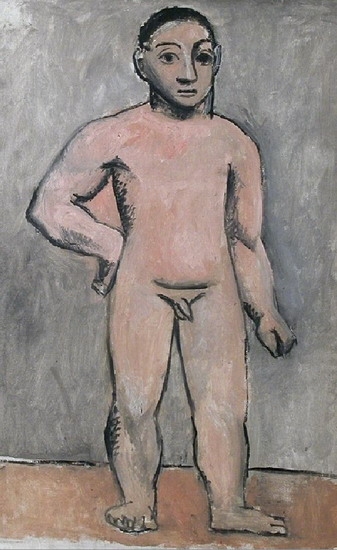 Pablo Picasso. Young naked boy, 1906