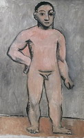 Pablo Picasso. Young naked boy