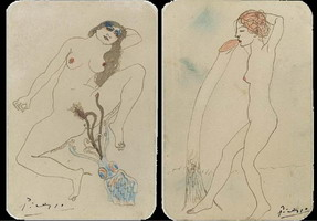 Two erotic drawings (Deux dessins erotiques)