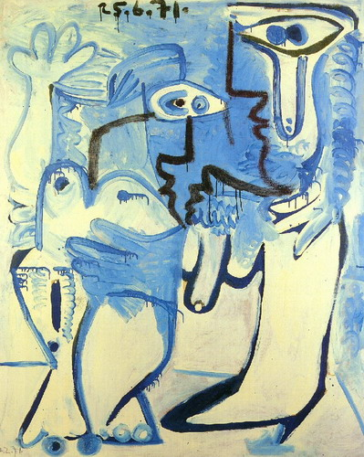 Pablo Picasso. Couple, 1971