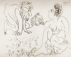 Pablo Picasso. Susanna and the Elders 2