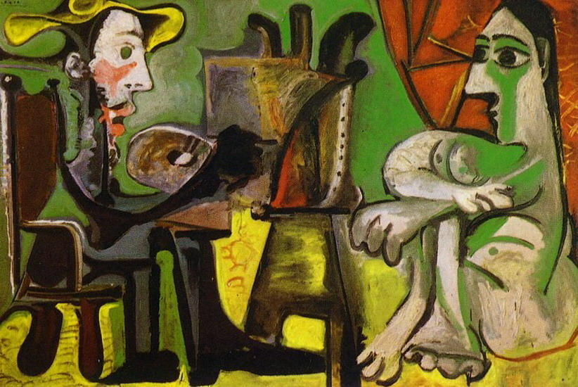 Pablo Picasso. The Artist and His Model 4, 1964